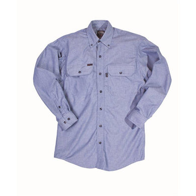 Key Apparel FR 562.45 Chambray FR Long Sleeve Shirt - Fire Retardant Shirts.com