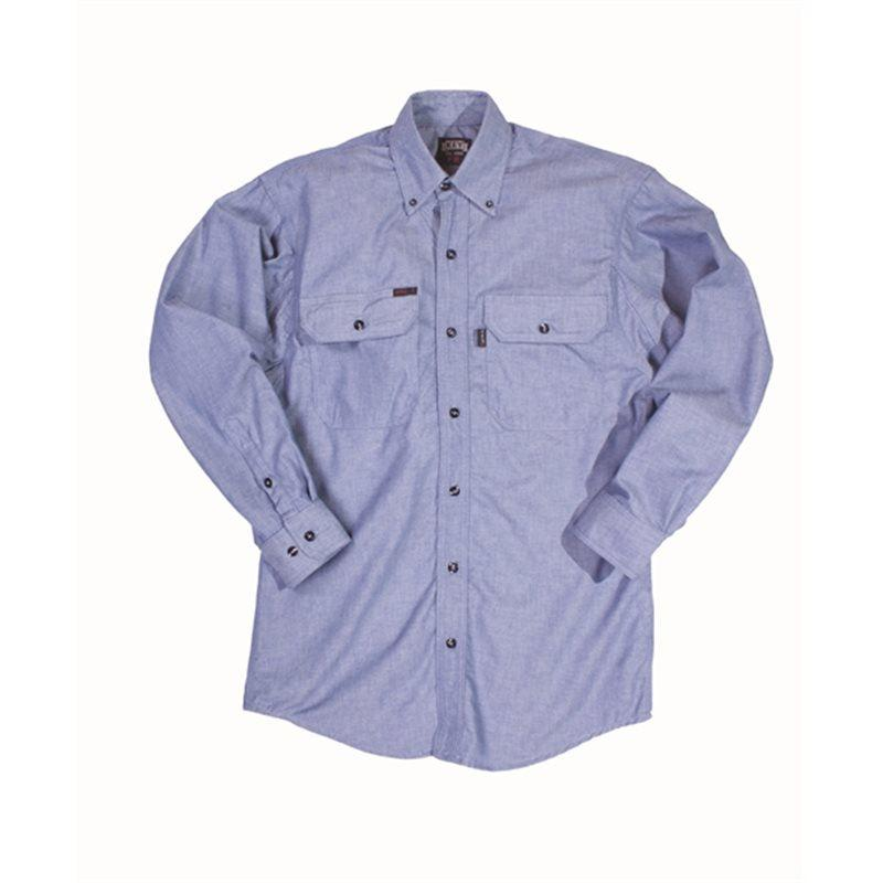 Key Apparel FR 562.45 Chambray FR Long Sleeve Shirt