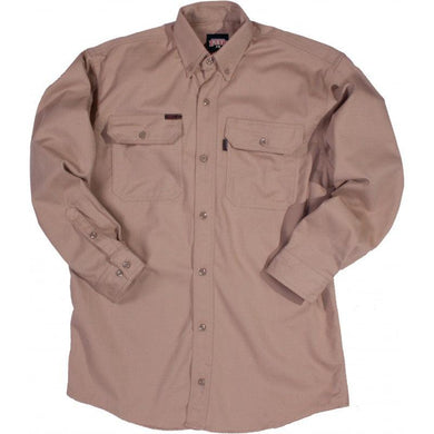 Key Apparel FR 564.24 Khaki FR Long Sleeve Shirt