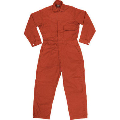 Key Apparel FR 984.76 Orange Contractor Unlined Coverall - Fire Retardant Shirts.com