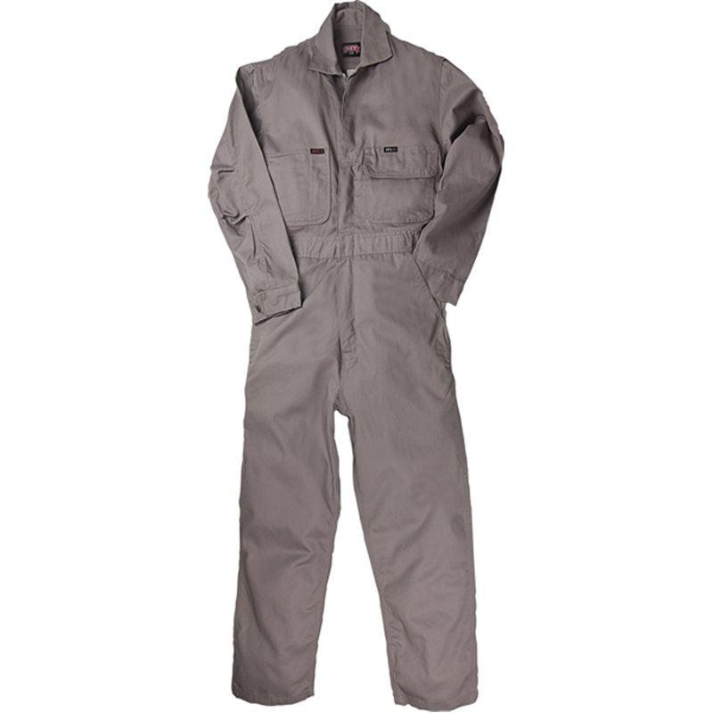 Key Apparel FR 986.04 Medium Gray Deluxe Unlined Coverall - Fire Retardant Shirts.com