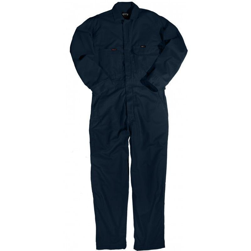 Key Apparel FR 986.41 Navy Deluxe Unlined Coverall - Fire Retardant Shirts.com