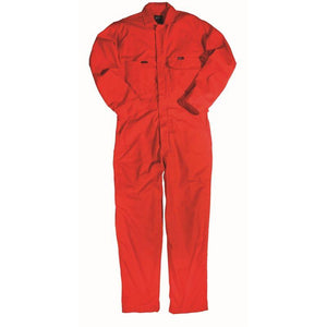 Key Apparel FR 986.76 Orange Deluxe Unlined Coverall - Fire Retardant Shirts.com
