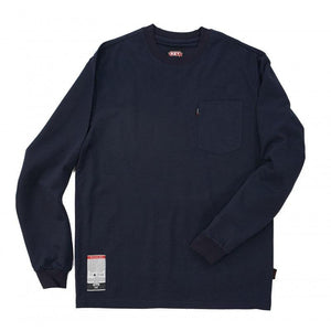 Key Apparel FR 850.40 Navy FR T-Shirt - Fire Retardant Shirts.com