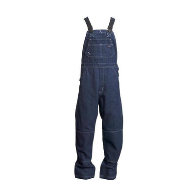 LAPCO FR B13FRDN Denim 13oz. FR Denim Bib Overall