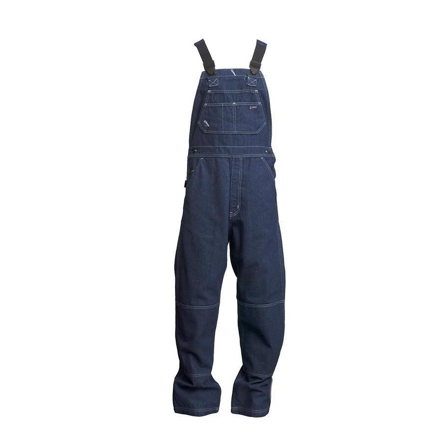 LAPCO FR B13FRDN Denim 13oz. FR Denim Bib Overall - Fire Retardant Shirts.com
