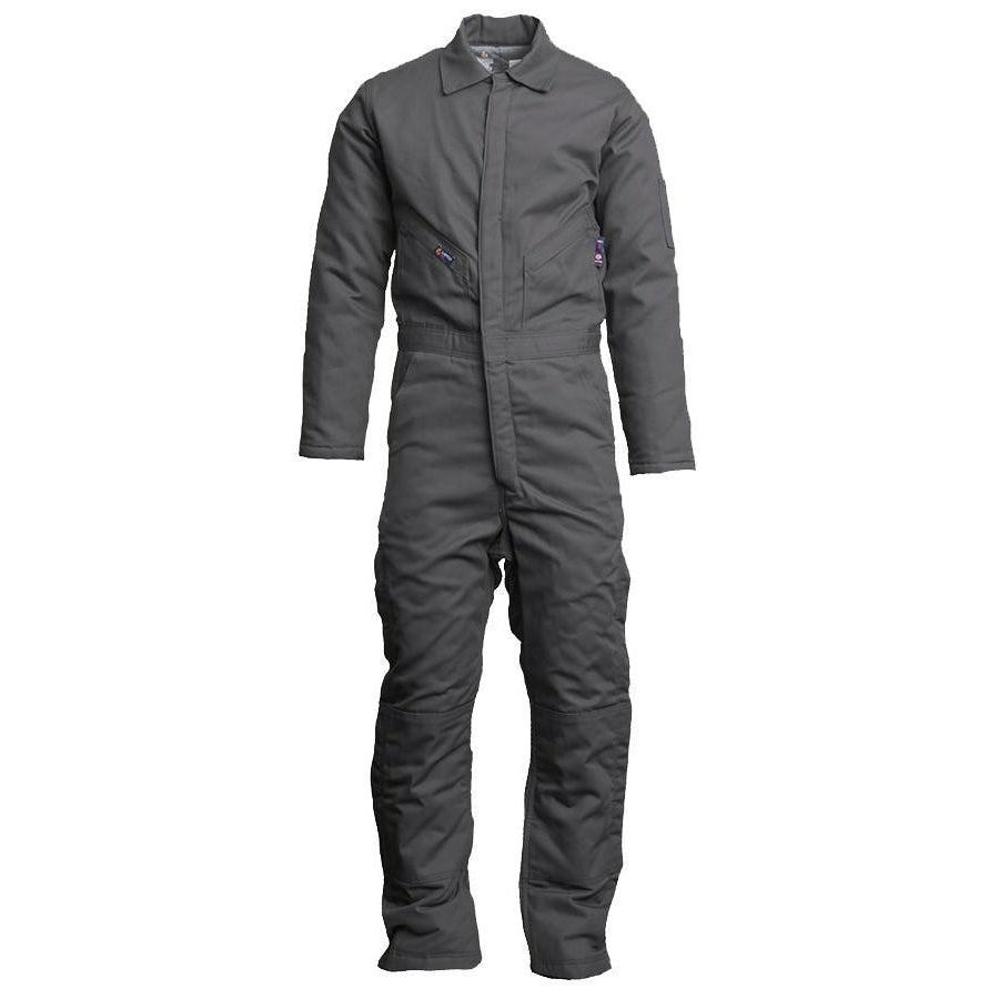 LAPCO FR CIFRGYDK Gray 12oz. FR Insulated Coveralls