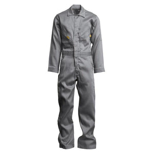 LAPCO FR GOCD7LG Light Gray 7oz. FR Deluxe Coveralls