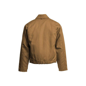 LAPCO FR JTFRBRDK Brown 12oz. FR Insulated Jackets
