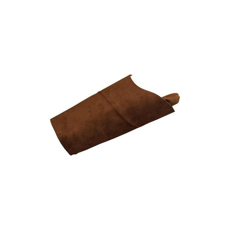 LAPCO FR LAP-AX Brown Leather Welding Arm Pads - Fire Retardant Shirts.com
