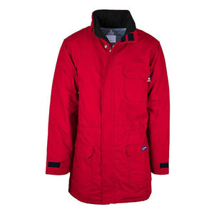 LAPCO FR PKFRWS9RE Red FR Insulated Parka with Windshield Technology