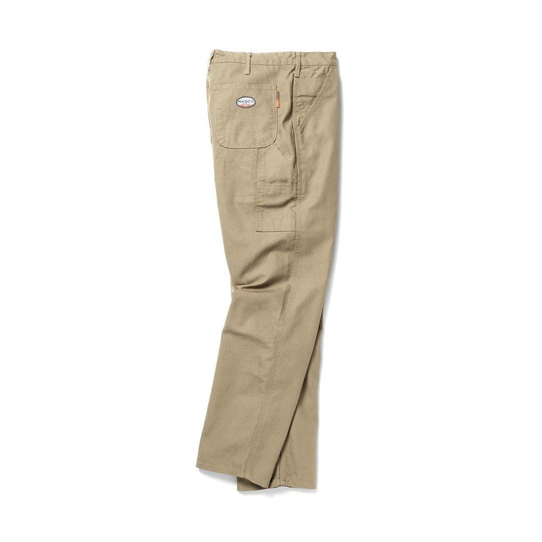 Rasco FR FR4504KH Khaki Carpenter Pants - Fire Retardant Shirts.com