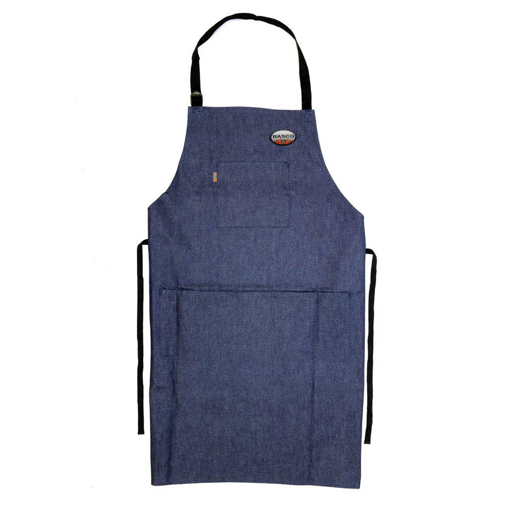 Rasco FR DAFR55 Denim FR Welding Aprons - Fire Retardant Shirts.com