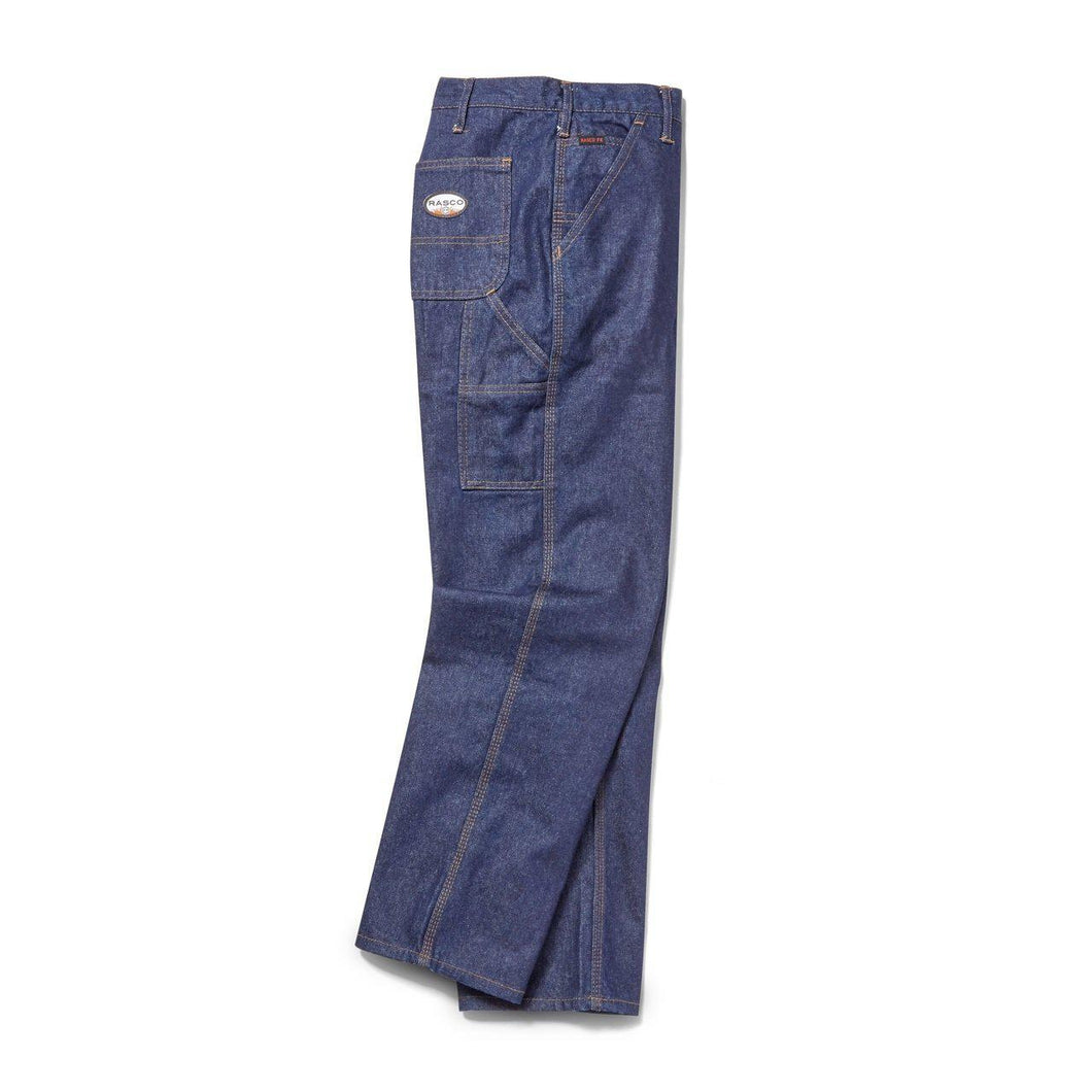 Rasco FR FR4522DN Blue Denim Carpenter Pants - Fire Retardant Shirts.com