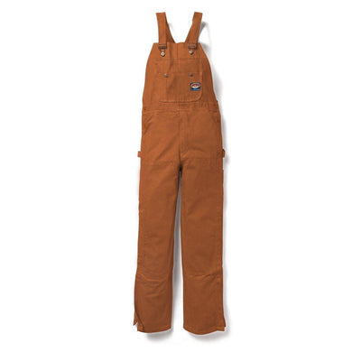 Rasco FR BOBF1217 Brown Duck Bib Overall