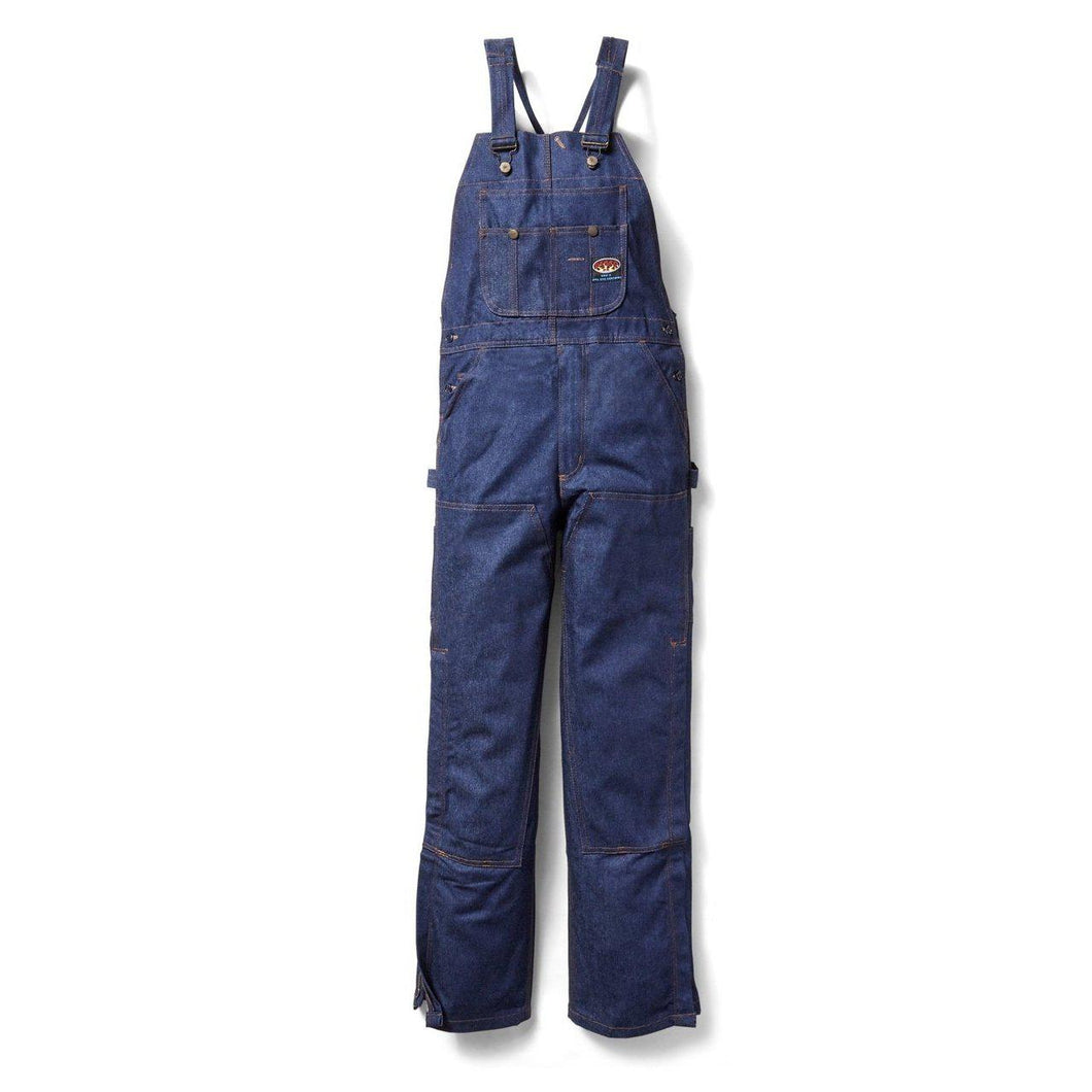 Rasco FR FR2322DN Blue Denim Bib Overall - Fire Retardant Shirts.com