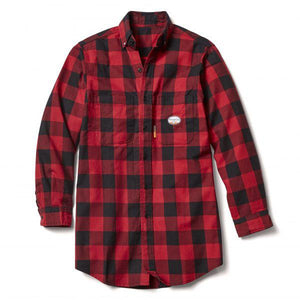 Rasco FR FR0824RD/BK Red & Black Buffalo Plaid Shirt - Fire Retardant Shirts.com