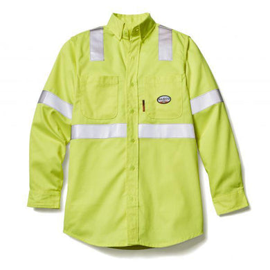 Rasco FR FR6503YH Hi-Vis FR Work Shirt