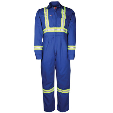 Big Bill FR 1175US7-BLR Royal Blue Women's Unlined Reflective Coverall - Fire Retardant Shirts.com