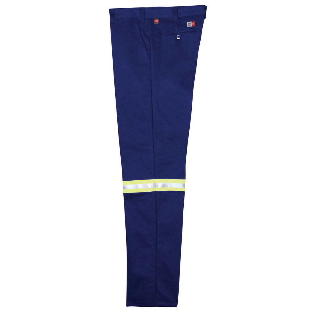 Big Bill FR 1435US9-BLR Royal Blue Work Pants with Reflective Material - Fire Retardant Shirts.com