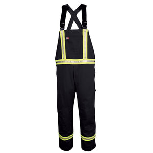 Big Bill FR 189US7-NAY Navy Unlined Reflective Bib Overall - Fire Retardant Shirts.com