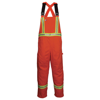 Big Bill FR 189US7-ORA Orange Unlined Reflective Bib Overall