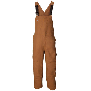Big Bill FR 198USD-BRN Brown Unlined Bib Overall - Fire Retardant Shirts.com