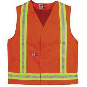 Big Bill FR A624US9 Hi-Vis Reflective Vest - Fire Retardant Shirts.com