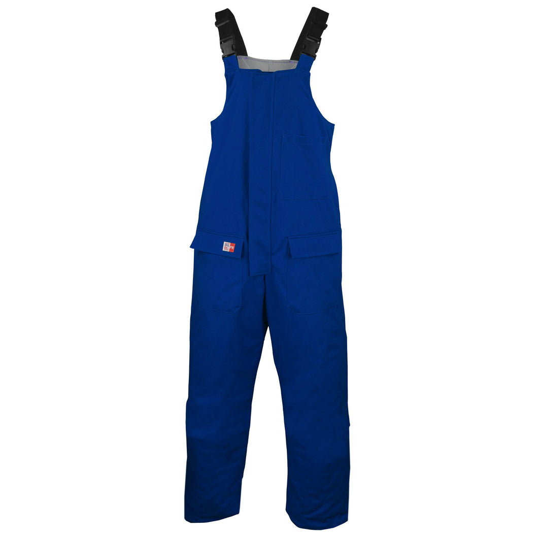 Big Bill FR M900US7-BLR Royal Blue Insulated Bib Overall - Fire Retardant Shirts.com