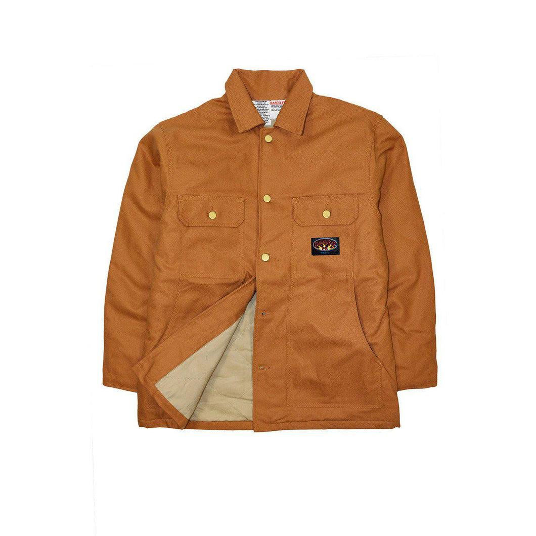 Rasco FR BCFQ1213 Brown Duck Insulated Field Coats - Fire Retardant Shirts.com