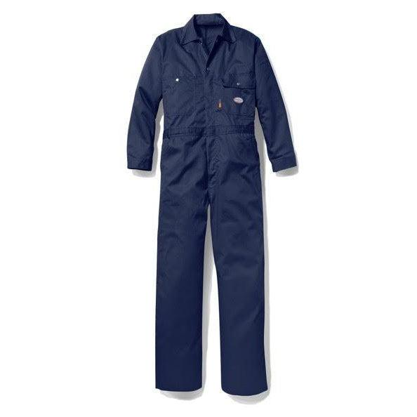 Rasco FR FR2804NV Navy Heavyweight Coverall - Fire Retardant Shirts.com