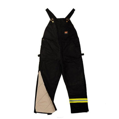 Rasco FR FR2507BK Black Duck Reflective Heavy Bib - Fire Retardant Shirts.com