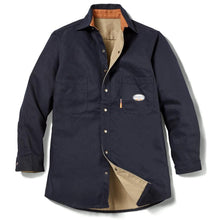 Rasco FR FR3407BK Black Duck Shirt Jacket - Fire Retardant Shirts.com