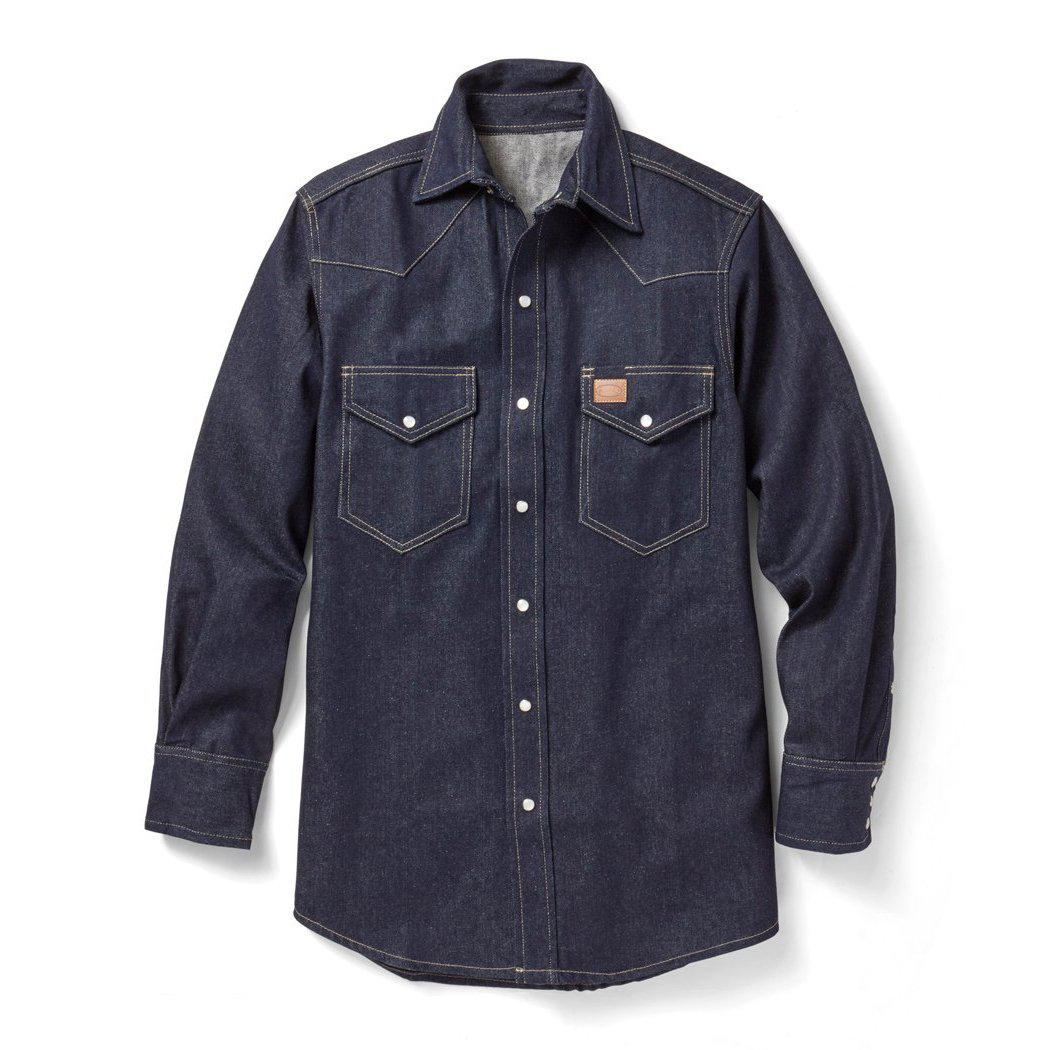 Rasco Non-FR D1150 Denim Classic Work Shirt