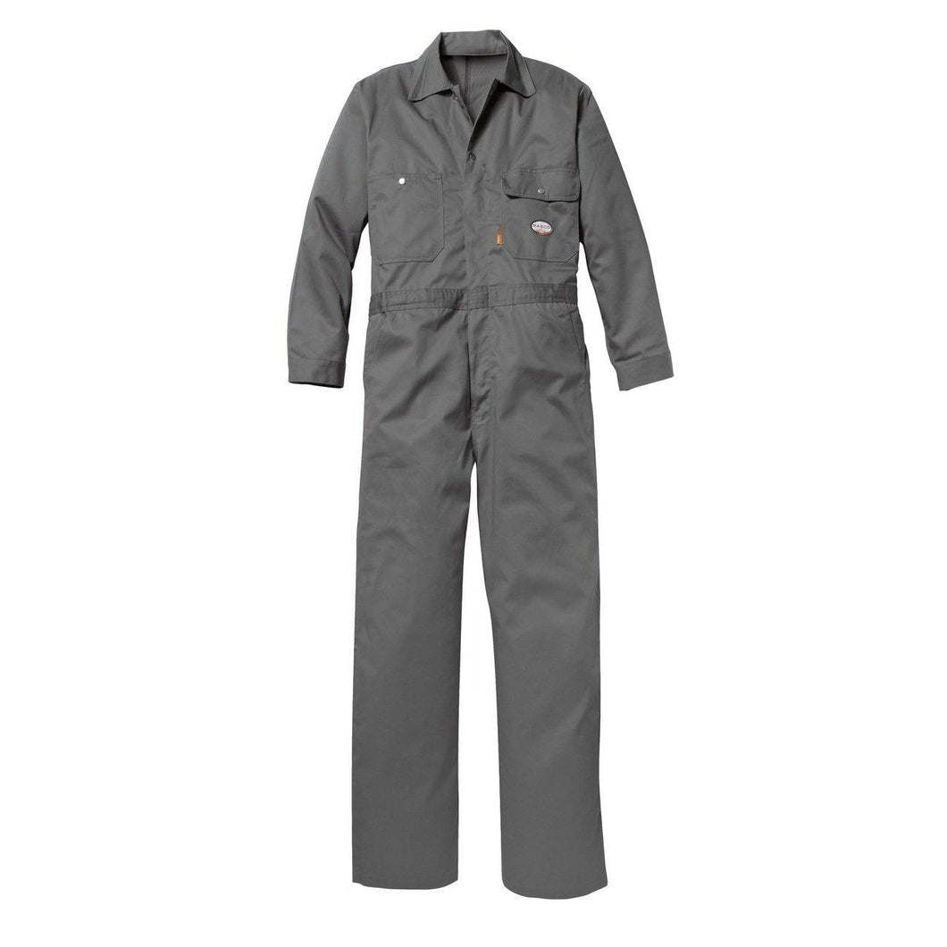 Rasco FR FR2804GY Gray Heavyweight Coverall - Fire Retardant Shirts.com