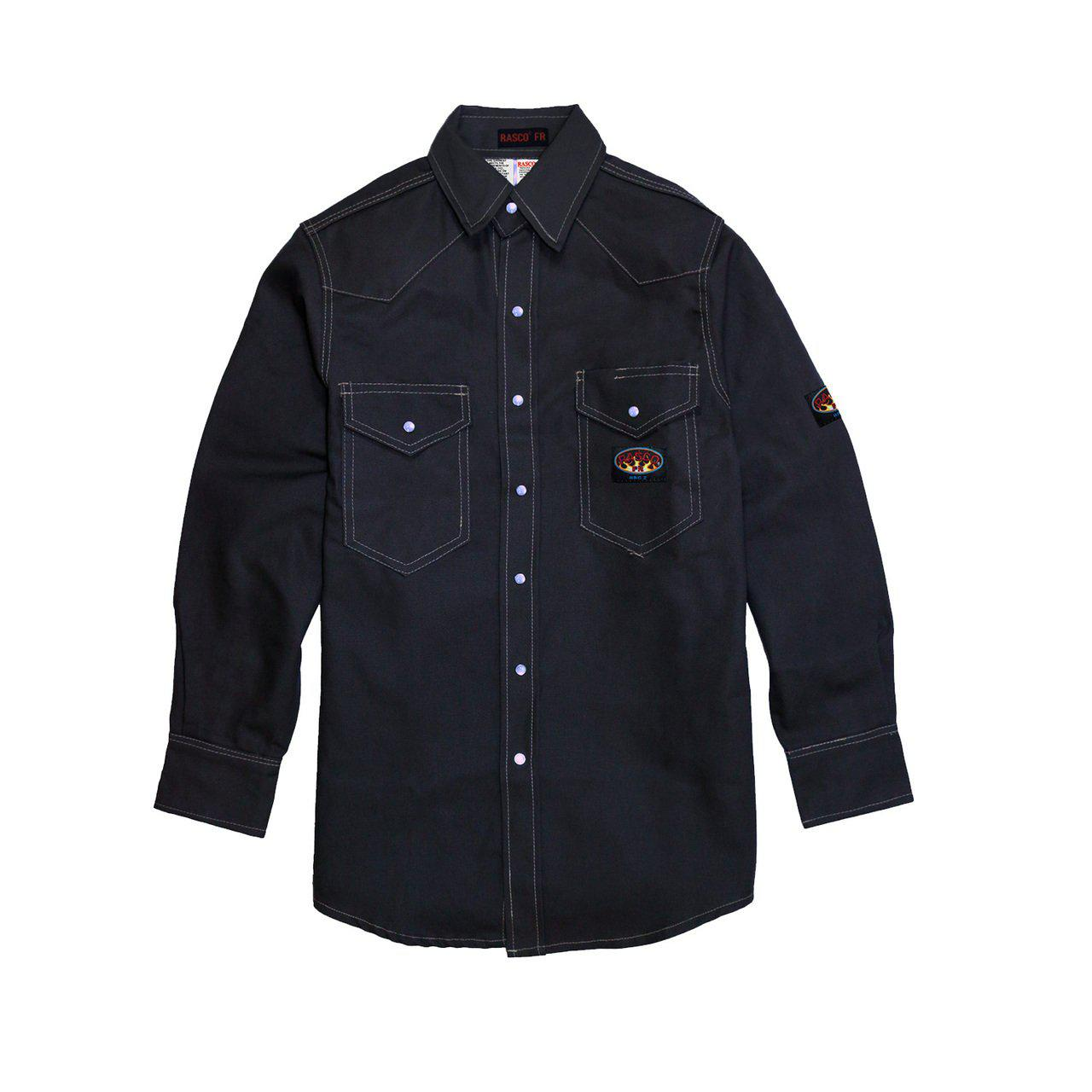 Rasco FR Navy Uniform Shirt