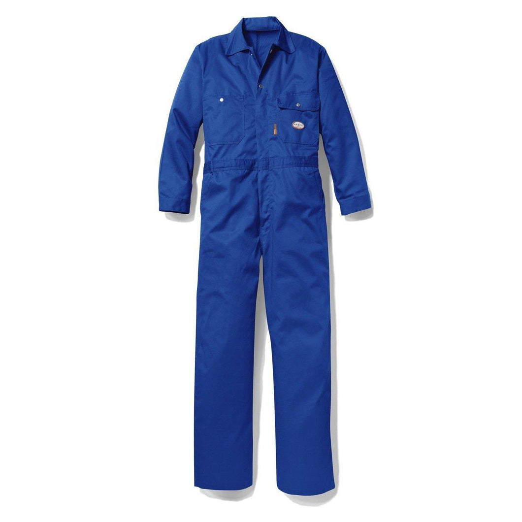 Rasco FR FR2803RB Royal Blue Lightweight Coverall - Fire Retardant Shirts.com