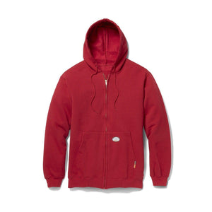 Rasco FR RSF1153 Red Zipper Hooded Sweatshirt