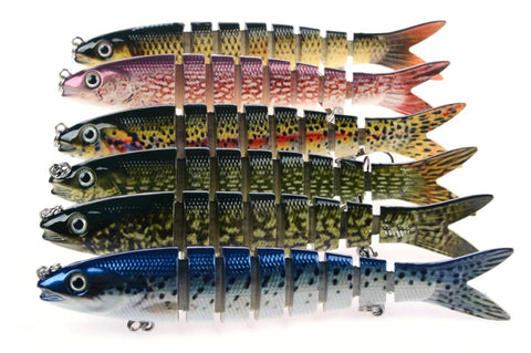 8 Section Fishing Lure