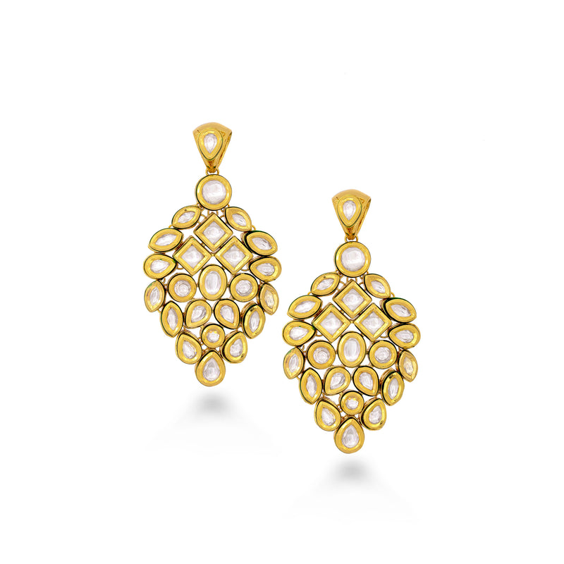 Opulent Kundan Earrings