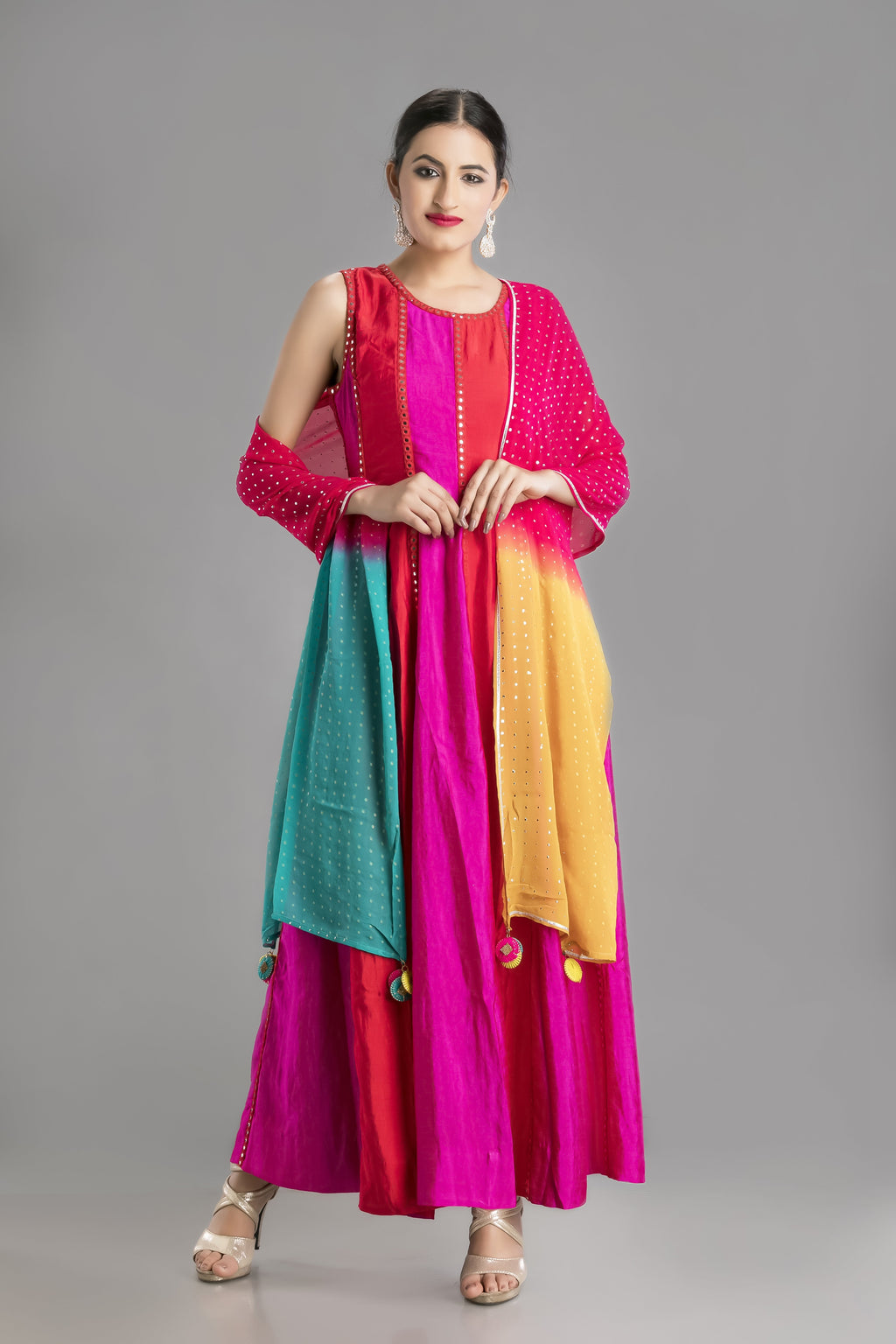 The Gypsy -A Stunning Dress in the Colours of Life