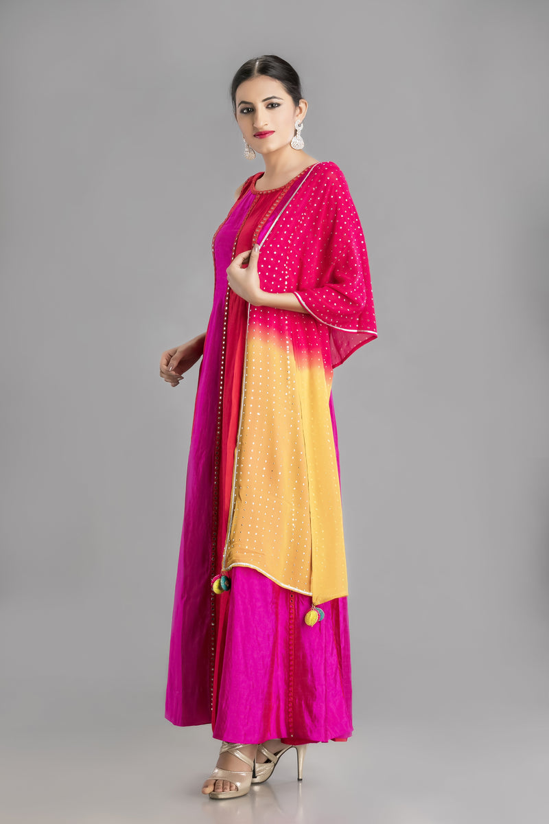 The Gypsy -A Stunning Dress in the Colors of Life