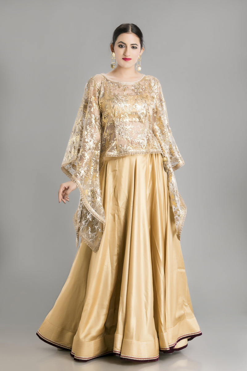 Sunehri- The Bold Gold Outfit