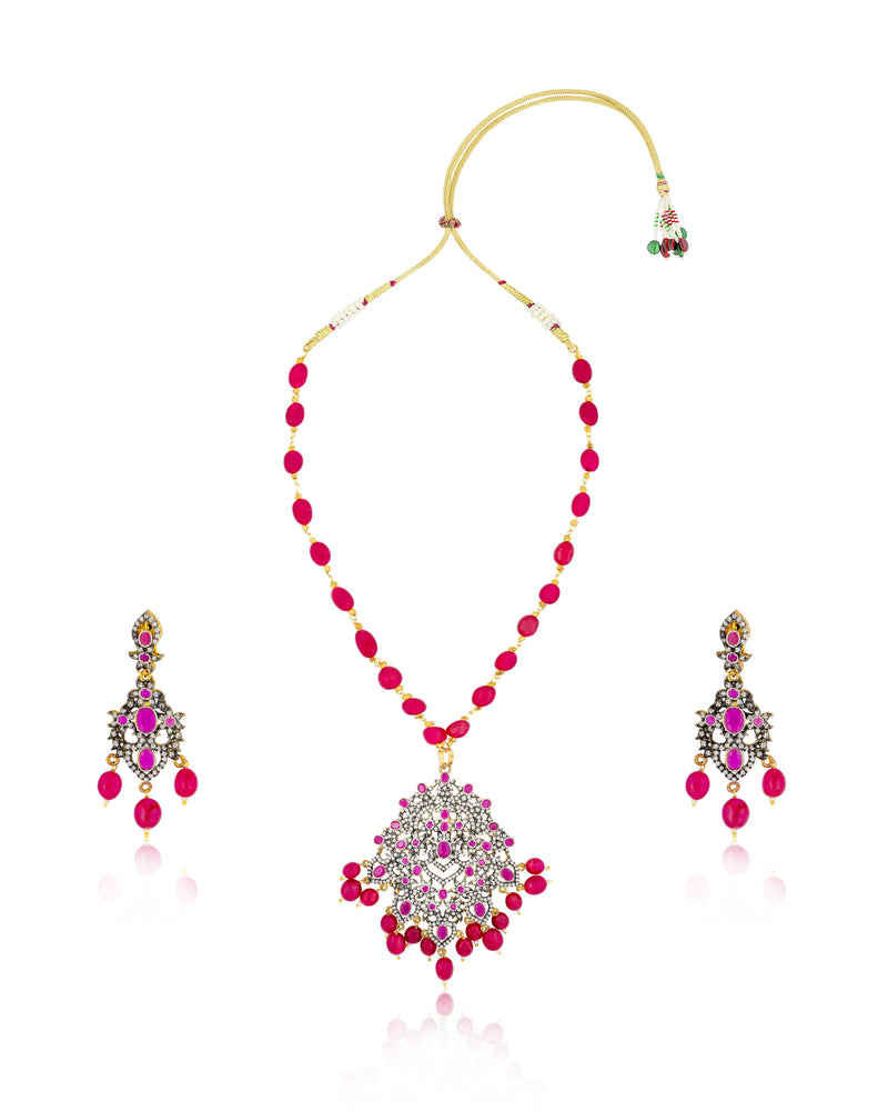 Magnificent Imitation Necklace Set