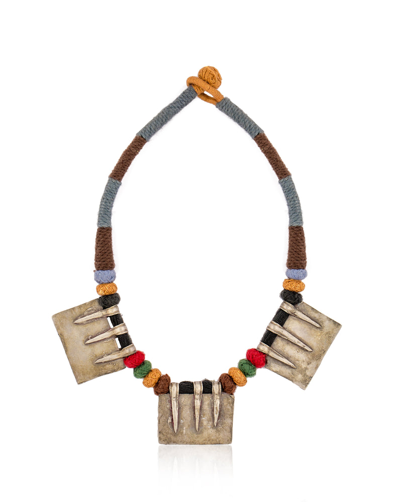 Multicolor Statement Neckpiece