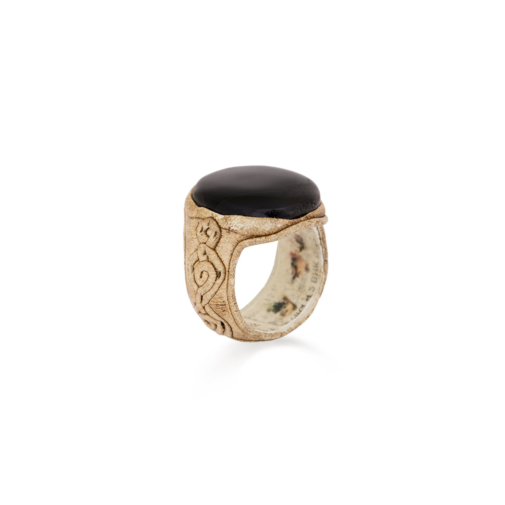 Black Statement Ring