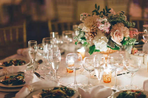 Grace and lawrence rose gold and gorgeous country chapel weddings their sweetheart table and favors for the guests featured custom custom engraved copper moscow mule mugs with their names and wedding date so cute greentooth Image collections
