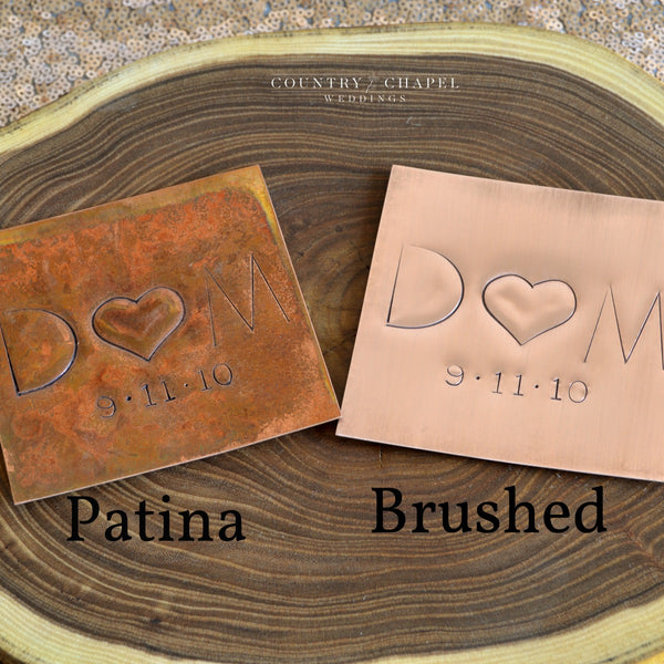Personalized Copper Coasters