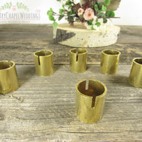 Gold Place Card Holder ~ Gold Escort Card Holder