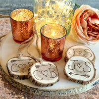 Personalized Wood Slices
